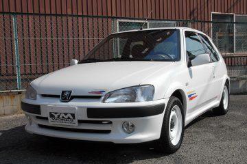 フルレストアされた106 Rallye 16v