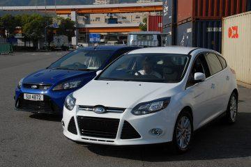 フォード フォーカス Mk3 1.0T エコブースト車とフォーカスRS Mk2 MP350