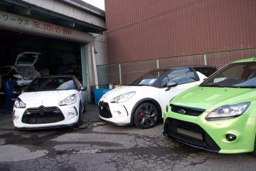 フォード フォーカスRS Mk2とシトロエン DS3レーシング