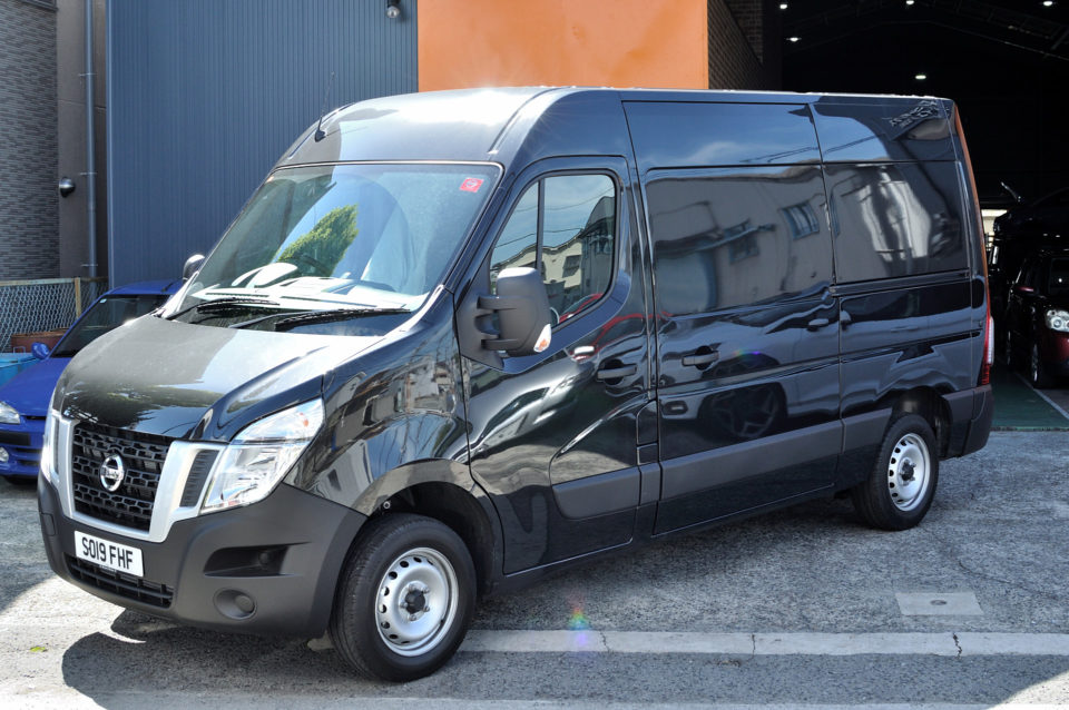 納車実績|Nissan UK NV400 Commercial Vehicle – Van |   6MT 右RHD