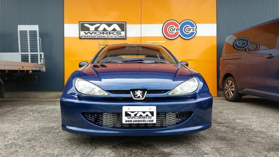 特別販売車両|プジョー206WRキット ワイエムエディション