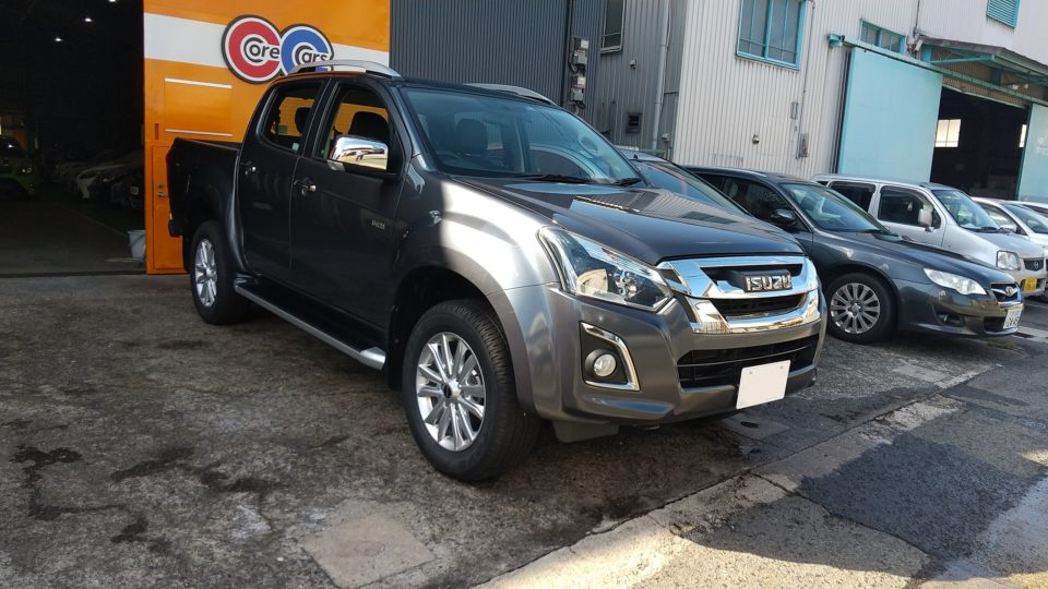 納車実績|福島県のK様にいすゞD-MAXをご納車