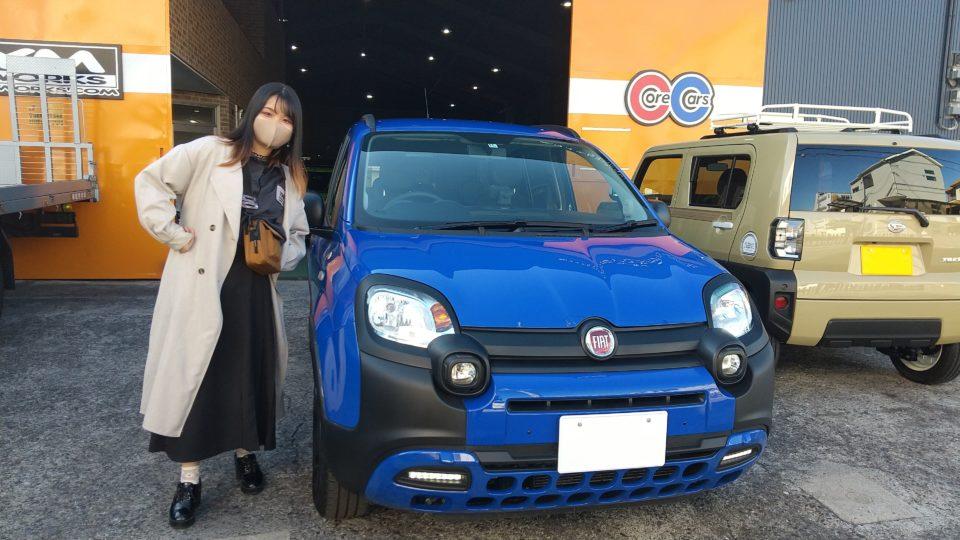 納車実績|奈良県のB様にフィアットパンダをご納車