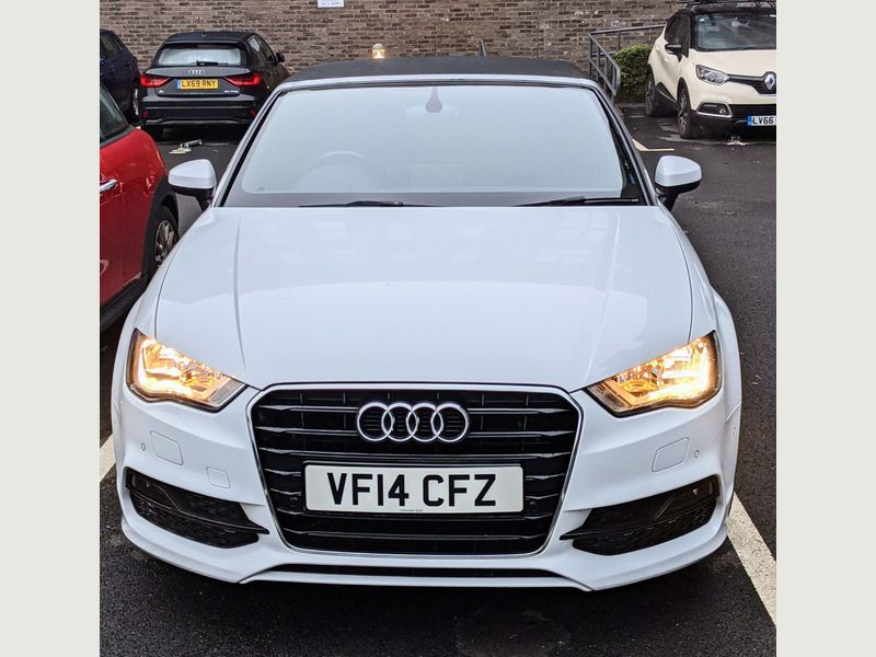 YMワークス東日本.横浜.サテライト店|特選輸入車Vol.9|2014 Audi A3 Cabriolet 1.4 TFSI CoD Sport 2dr MT UK(中古車)乗り出し:¥3,185,160