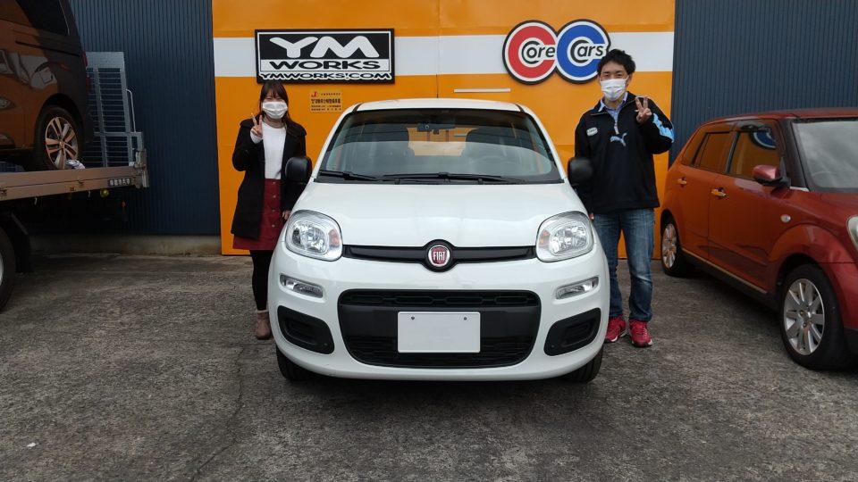 納車実績|兵庫県のM様へフィアットパンダをご納車