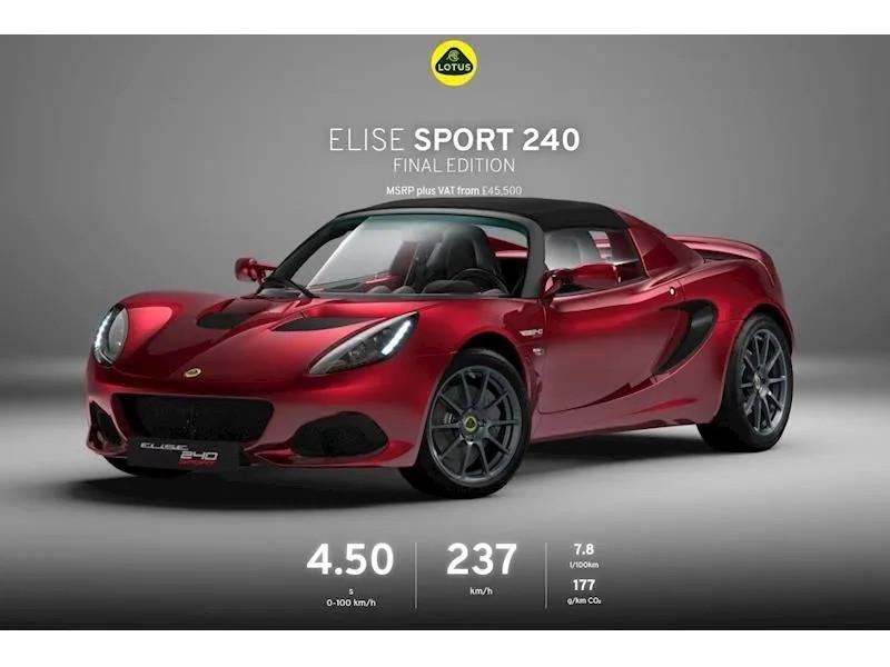 YMワークス東日本.横浜.サテライト店|特選輸入車 ロータス特集Vol.13|2021 Lotus Elise S3 Sport 240 Final Edition uk(新車)乗り出し:¥10,669,481