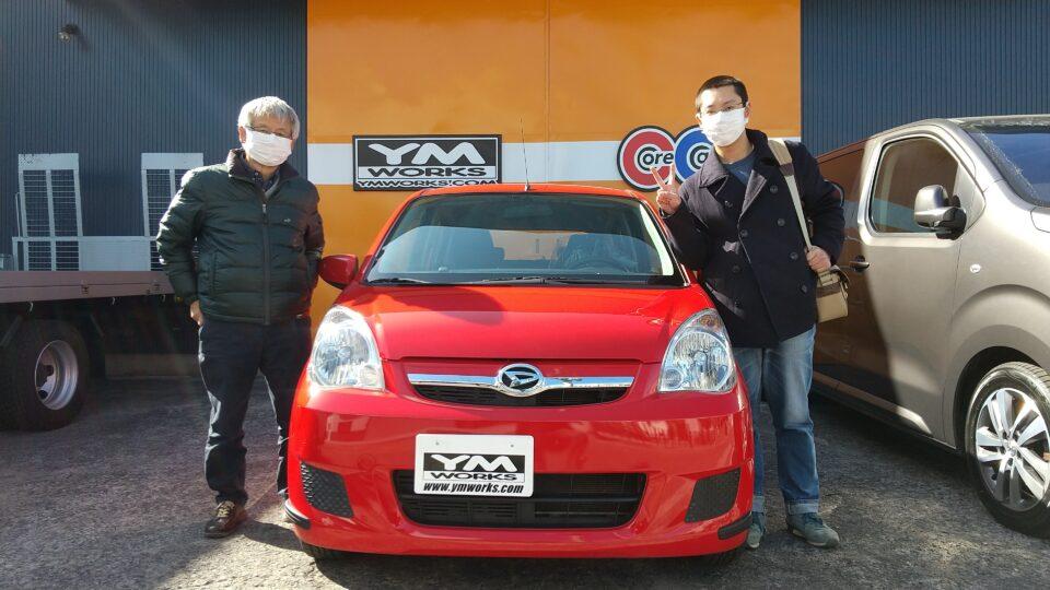 納車実績|栃木県のI様へダイハツクオーレをご納車
