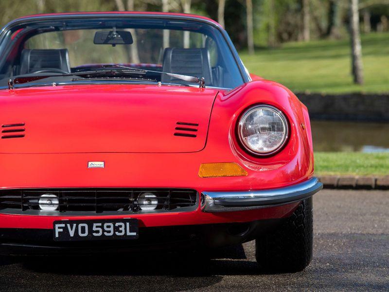 特選輸入車Vol.238 | 1973 Ferrari DINO 246 GTS uk(中古車)| 支払総額:¥75,319,471