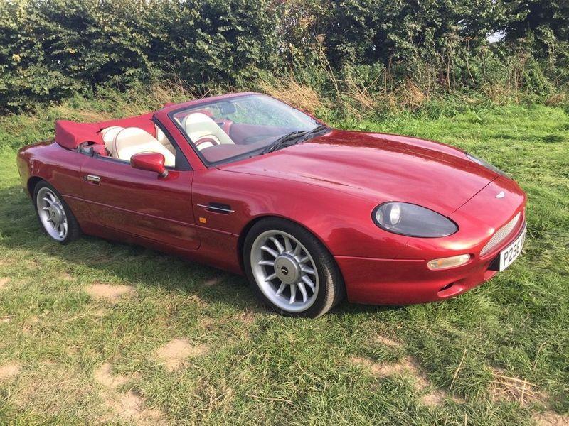 特選輸入車Vol.227 | 1996 Aston Martin DB7 3.2 Volante uk(中古車)| 支払総額:¥7,549,395