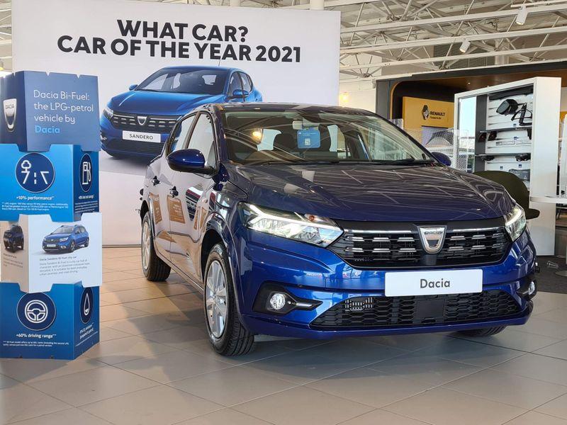 特選輸入車Vol.248 | 2021 Dacia Sandero 1.0 TCe Comfort uk(新車)| 支払総額:¥3,631,978