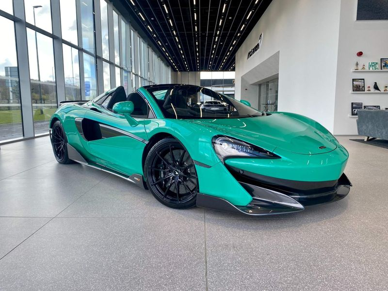 特選輸入車Vol.252 | 2021 McLaren 600LT 3.8T V8 Spider uk(新古車)| 支払総額:¥35,596,975