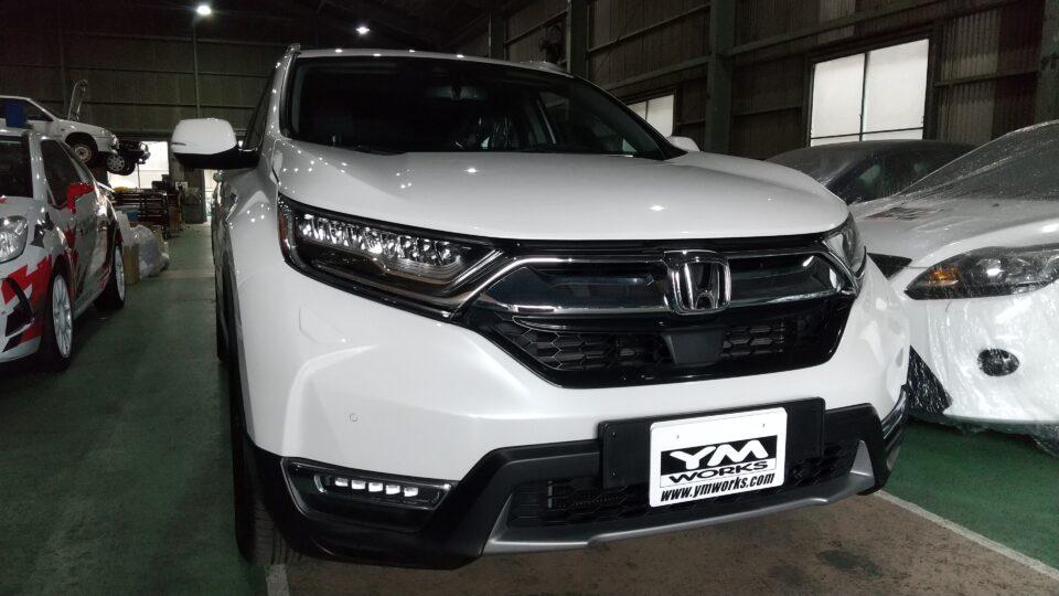 納車実績|茨城県のK様へホンダCR-Vをご納車
