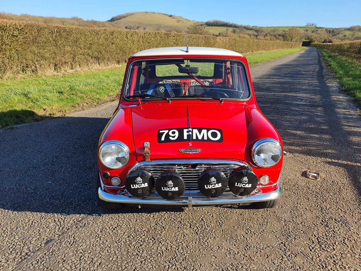 特選輸入車Vol.260   1964 Austin Mini Cooper S Paddy Hopkirk Recreation uk(中古車)  支払総額:¥15,397,847