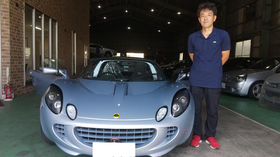 納車実績|東京都N様へロータスエリーゼ(Lotus,Elise)スポーツ111をご納車