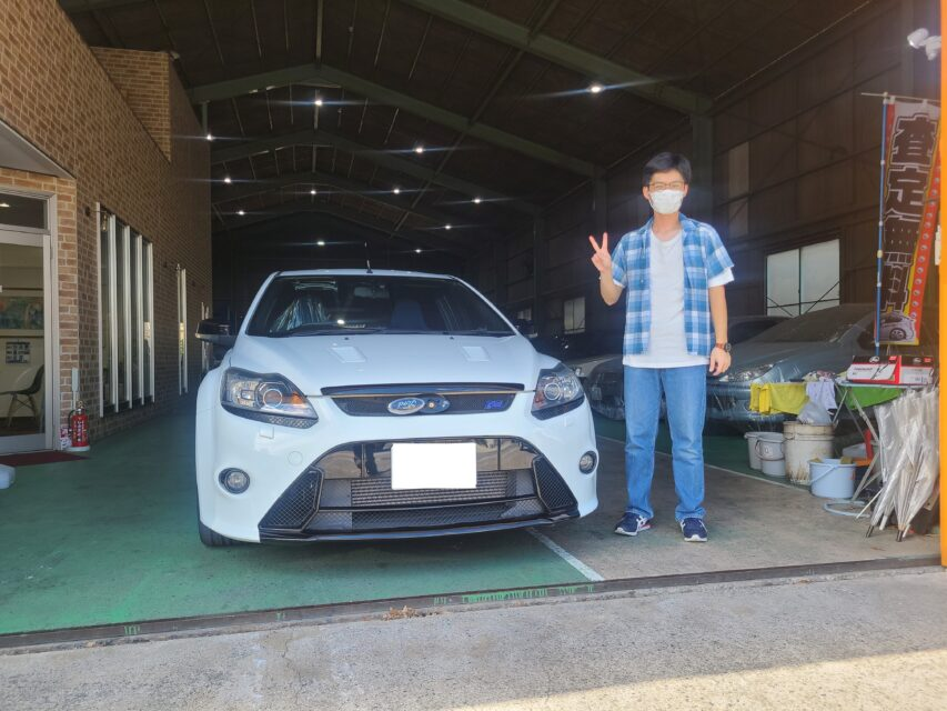 納車実績|茨城県のT様へFord Focus RS Mk2  YMエディション(フォード フォーカス)をご納車